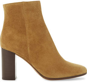 Maje Suede heeled ankle boots