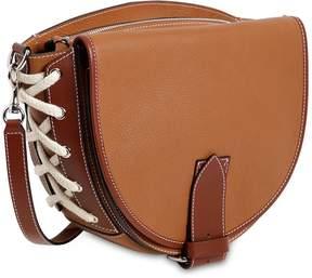 J.W.Anderson Saddle Two Tone Leather Shoulder Bag