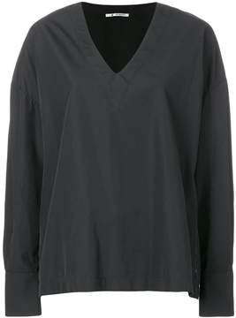 Barena oversized v-neck top
