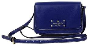 Kate Spade Blue Small Fold Over Crossbody - BLUE - STYLE