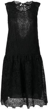 Ermanno Scervino lace drop waist mini dress
