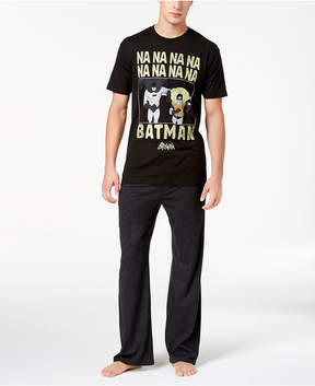 Bioworld Men's Batman Pajama Set