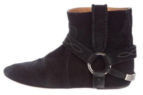Etoile Isabel Marant Suede Embellished Ankle Boots
