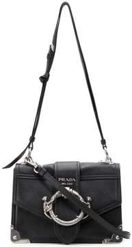 Prada Cahier monkey buckle shoulder bag