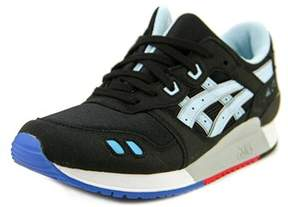 Asics Gel-lyte Iii Gs Youth Round Toe Synthetic Black Running Shoe.