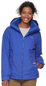 Columbia Women's Ruby River Hooded 3-in-1 Systems Jacket