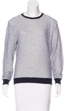 Band Of Outsiders Striped Knit Sweater