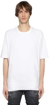Diesel Black Gold Oversized Cotton Jersey T-Shirt