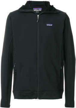 Patagonia zip hooded sweatshirt