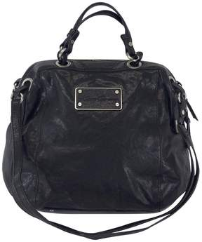 Kenneth Cole Black Leather Convertible Bag