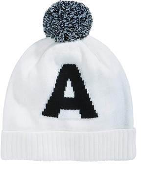 Armani Exchange Men's Pom Pom Letter Hat