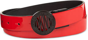 DKNY Plaque Reversible Belt, Created for Macy's
