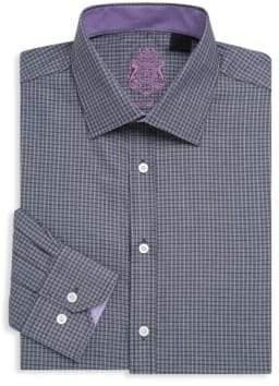 English Laundry Textured Cotton Dress Shirt