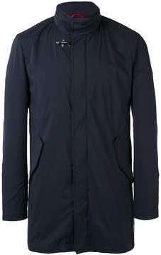 Fay zipped neck jacket