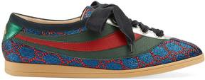 Gucci Falacer 系列 lurex GG sneaker with Web