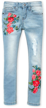 Betsey Johnson Girls 4-6x) Floral Skinny Jeans