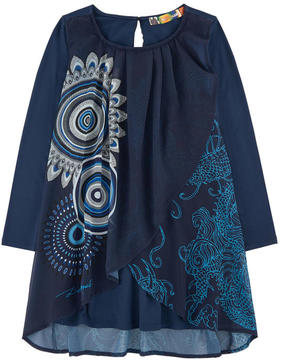 Desigual Two-material dress