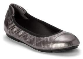 Vionic Ava Leather Ballet Flats