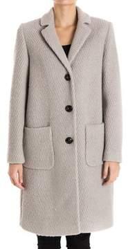 Seventy Women's Grey Wool Coat.