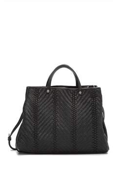 Kooba Anguilla Leather Satchel Handbag