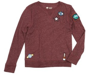 Tucker + Tate Toddler Boy's Outer Space Appliqued Long Sleeve T-Shirt