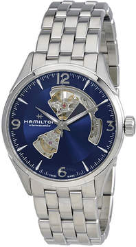 Hamilton Jazzmaster Automatic Open Heart Blue Dial Men's Watch