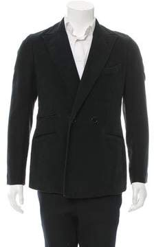 Hogan Double-Breasted One-Button Blazer