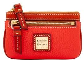 Dooney & Bourke Pebble Grain Small Coin Case - SALMON - STYLE
