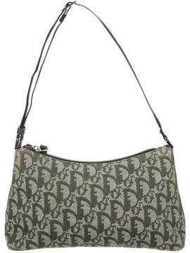 Christian Dior Diorissimo Canvas Shoulder Bag