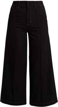 Wales Bonner Reed high-rise wool culottes
