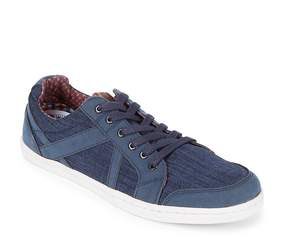 Ben Sherman Men's Round Toe Denim Sneakers