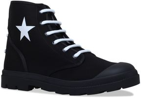 Givenchy Olympus Star Canvas Boots