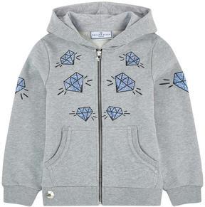 Philipp Plein Graphci hoodie with rhinestones