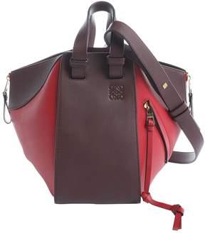 Loewe Hammock Red Leather Handbag