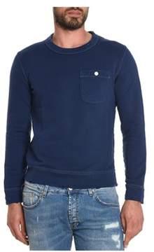 Cycle Men's Blue Cotton Sweatshirt.