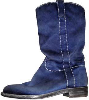 Officine Creative Blue Boots