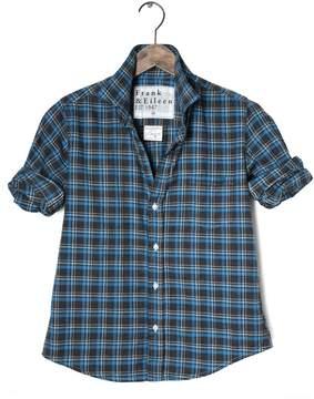 Frank And Eileen Womens Barry Italian Flannel Plaid Shirt