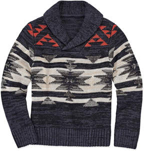 Arizona Shawl Collar Knit Sweater - Preschool
