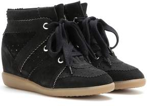Isabel Marant Étoile Bobby suede wedge sneakers