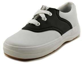 Keds School Days Ii Round Toe Leather Sneakers.