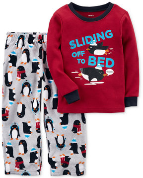 Carter's 2-Pc. Sliding Off To Bed Penguin Pajama Set, Toddler Boys (2T-5T)