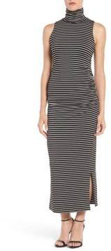Amour Vert Women's Turtleneck Maxi Dress