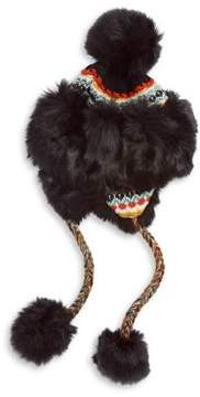 Free People Melt My Heart Faux Fur Trapper Hat