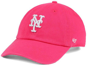 '47 Women's New York Mets Pink/White Clean Up Cap