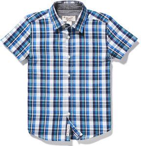 Original Penguin Boys Plaid Button Down Shirt