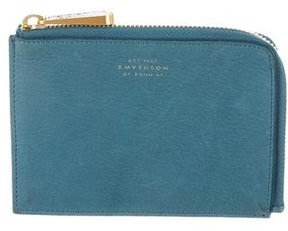 Smythson Stingray-Embellished Beatrix Pouch
