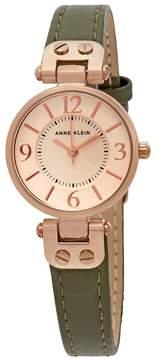 Anne Klein Ladies Leather Watch