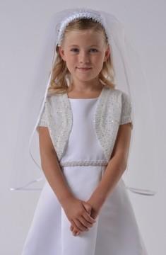 Us Angels Girl's Communion Bolero Sweater