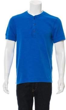 Jack Spade Short Sleeve Henley T-Shirt