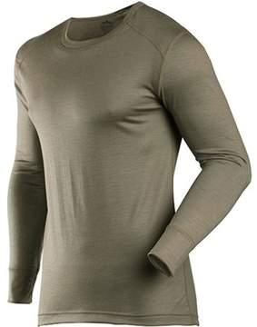 Commando ColdPruf Coldpruf Classic Series Merino Wool Thermal Underwear Shirt, Green, Size 2XL